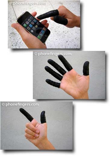 iphonefinger