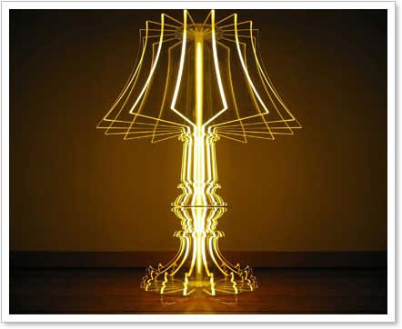 acryllampe