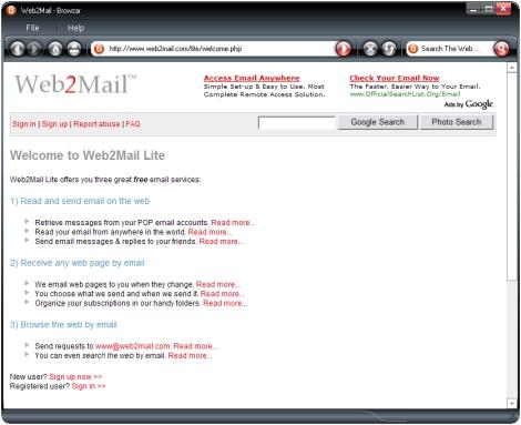 web2mai