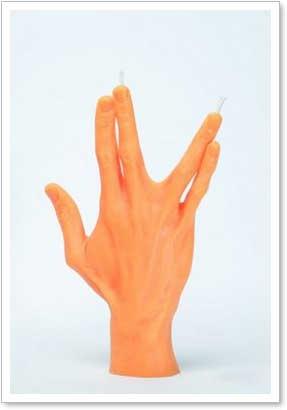 fingerkerze