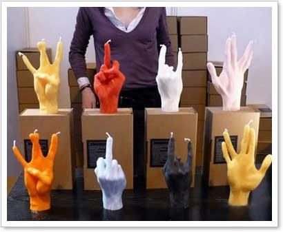 fingerkerzen
