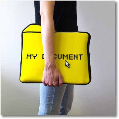 a8e3 my documents laptop sleeve