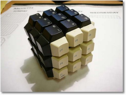 keyboard-rubiks-cube