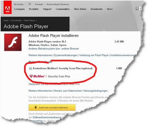 Adobe - Adobe Flash Player