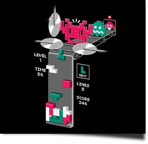 tetris grausam