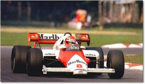 Nicki Lauda Monaz 1984 McLaren MP4