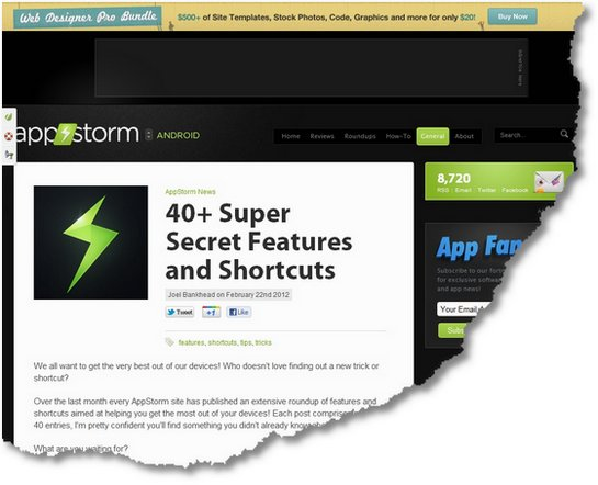 40+ super geheime Features und Shortcuts